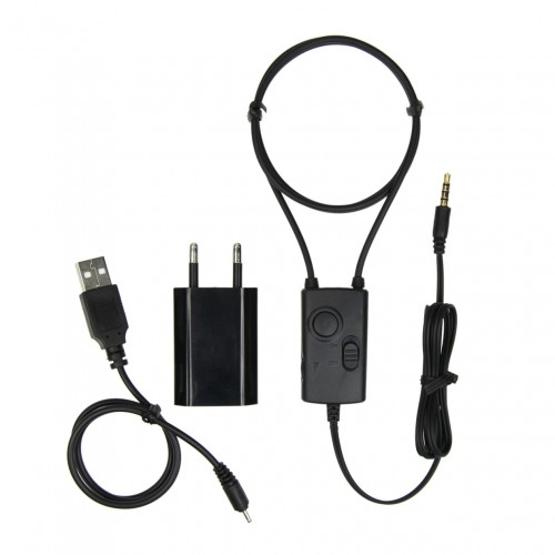 Kabelová indukční smyčka s 3W zesilovačem a externím mikrofonem