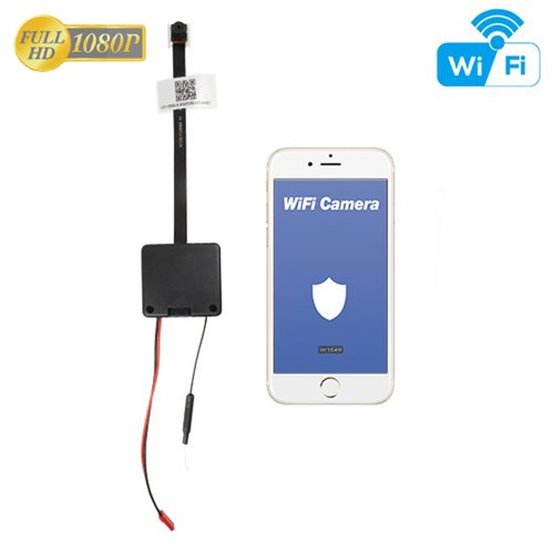 Wi-Fi Full HD kamera do rukávu